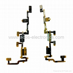 iPad 2 Power / Mute / Volume Flex Cable