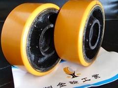 实芯轮胎包胶