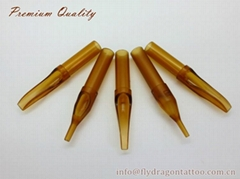 Premium Quality Disposable Tattoo Tips in Tea Color (Hot Product - 1*)
