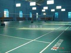 羽毛球場運動地板