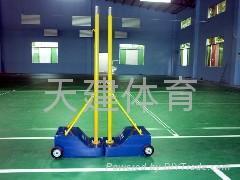 移動式羽毛球柱