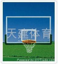 鋼化玻璃籃球板 2