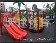 儿童室外组合型滑梯