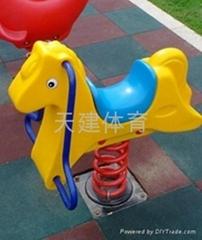 儿童室外动物摇摇乐