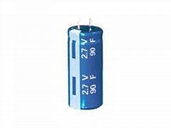 Manufacturers supply 2.7V3.5F, 8F, 10F-650F farad capacitor
