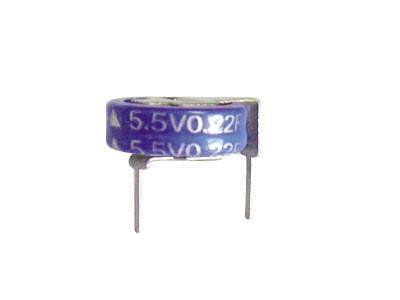 Manufacturers supply 3.3V0.2F, 0.22F, 0.33F farad capacitor 1