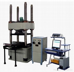 Microcomputer Controlled Electro- Hydraulic Servo Compression Testing Machine