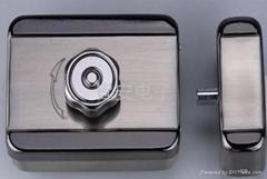 Mute electric rim lock,electronic door lock,safe lock-JA803