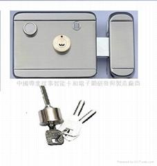 electric control rim lock