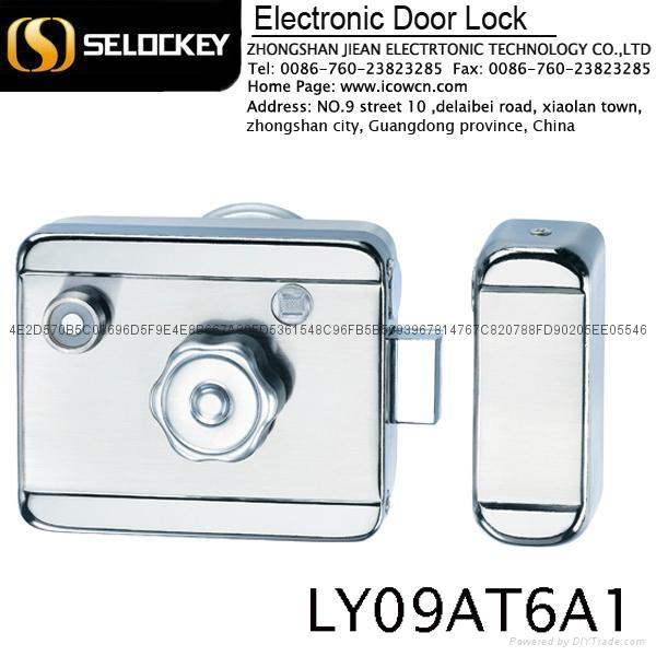 【鎖神】特賣 一體鎖刷卡遙控 別墅出租屋專用防盜門鎖 LY09AT6A1 1