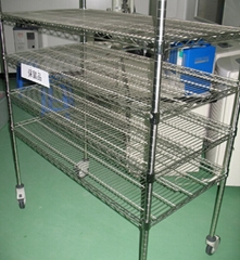 chrome layer shelf