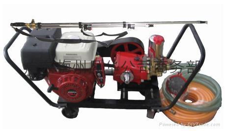 New Type 120 spraying & sprinkler irrigating machine 1