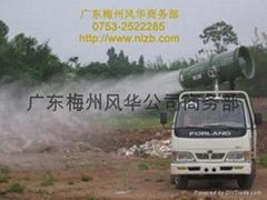 3WD2000-70型車載遠射程風送式環保噴藥機