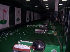供應高爾夫練習場設備及施工
