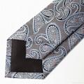 Blue Gable Tie ready tie handmade necktie