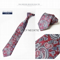 2018 New collection bow gift fabric polyester ties men silk Neckties