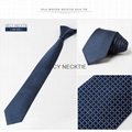 Navy solid slim skinny wedding ties men s buy ties knitted silk necktie