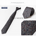 Fast delivery personalized adjustable mens silk necktie