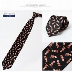 Polyester Printed Music Necktie Sale