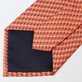 2018 new product design pattern hot sale men's silk tie printed