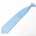 men's classic  jaquard woven fabric silk neckties