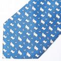 custom made your design printed silk necktie animal designs