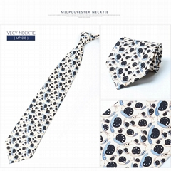Fashion Print Silk Necktie