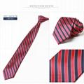 Mens Korean Silk Ties Red Skinny Floral Tie Custom Means Neck Ties
