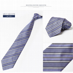 Blue 100% Silk Necktie