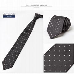 Jacquard Woven Custom Men Nano Necktie Cheap Microfiber tie