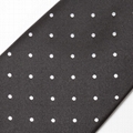 Jacquard Woven Custom Men Nano Necktie Cheap Microfiber tie
