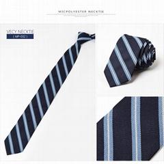 Micpolyester necktie pol