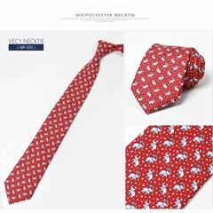 100% silk printed neckti