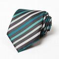 micpolyester woven necktie poly necktie striped