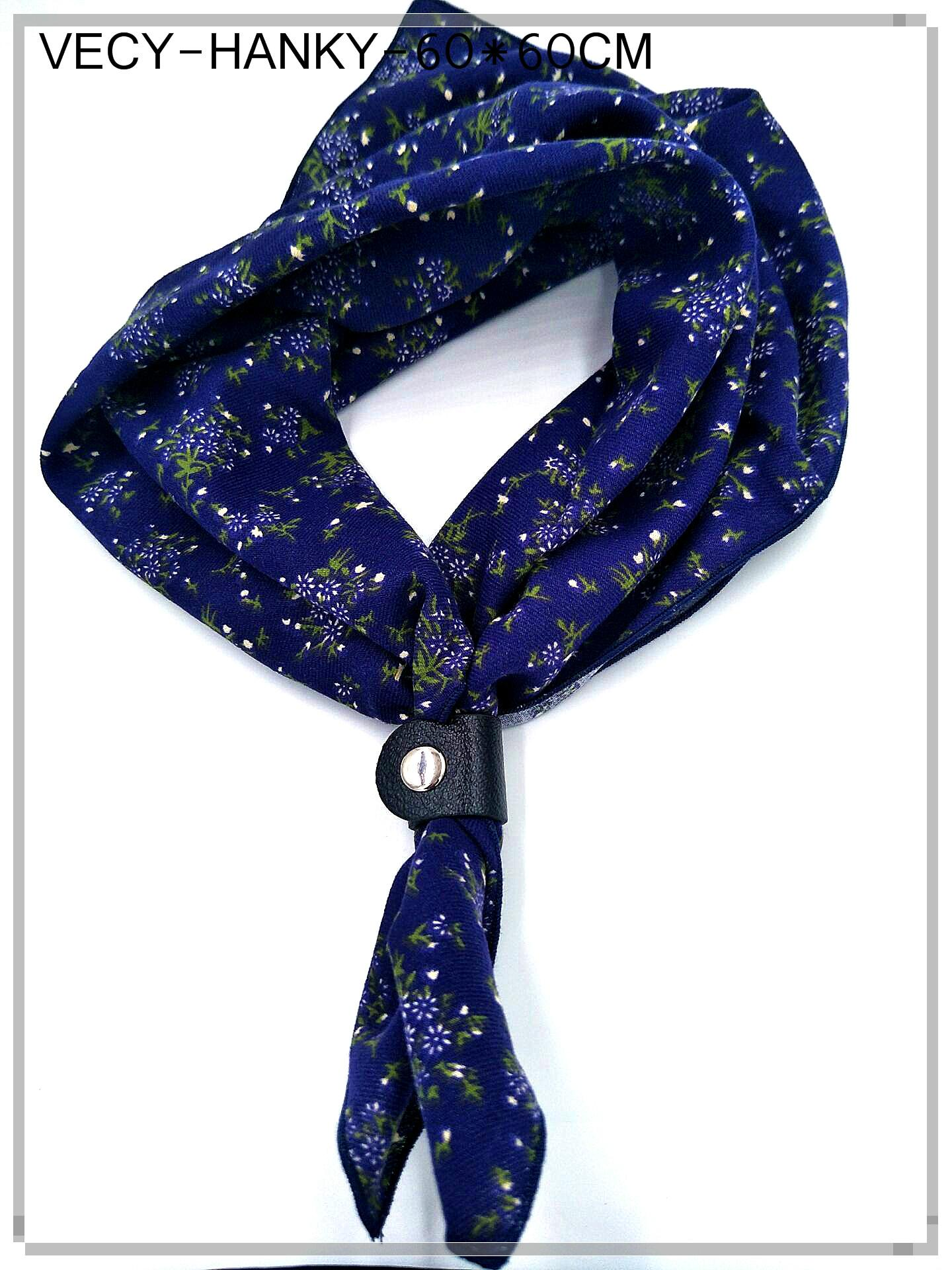 Cotton Scarf in soft printed 3