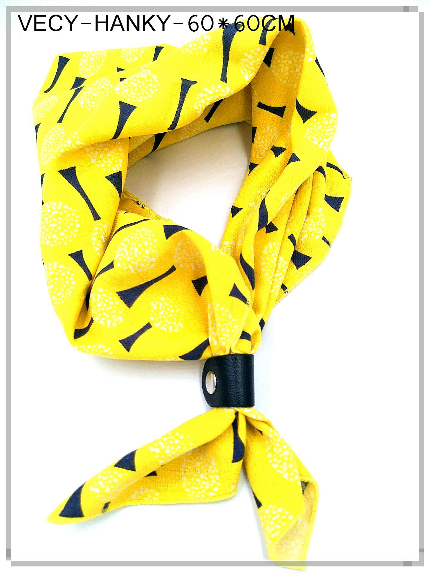 Cotton Scarf in soft printed 4