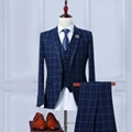 Factory Custom Logo Woven Vest Waistcoat Suit