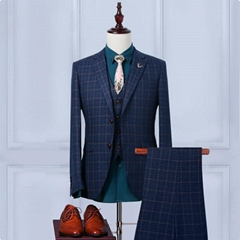 Custom Vest Men Vintage Slim Fit Groom's Wear Vest Men Wedding Waistcoats