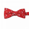 Custom Classic Striped Cheap Bow Ties Self Tie Bow Tie