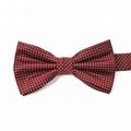 Custom Bow Ties Microfiber Floral Fabric Bowtie Self Tie