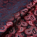 100% Woven Patterned Silk Fabric Supplier