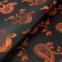 Custom Jacquard Woven Viscose Material Fabric For Making Dress