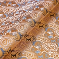 Jacquard Fabric Yarn Dyed Pure Silk Fabric For Wedding Dress 2