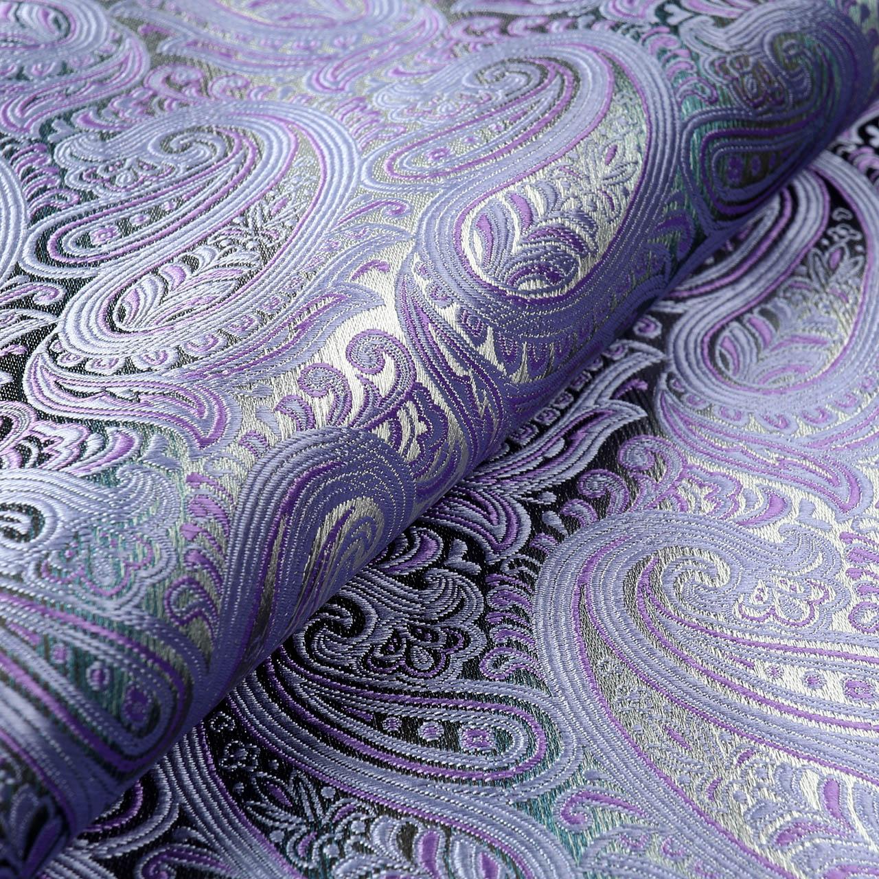 Jacquard Fabric Yarn Dyed Pure Silk Fabric For Wedding Dress 4