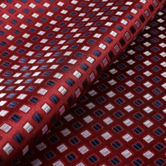 New jacquard design Italian Silk Woven Necktie Fabric