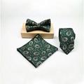 Business Wedding Men Ties Neckties Bowtie Hanky Ties Gift Set