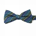 Good Quality Floral Pattern Silk Bow Tie Self Bow Tie