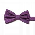 New 2018 Self Tie Bow Tie Flower Pattern Design Bowtie
