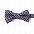 Wholesale Bow Tie Floral Jacquard Woven Bowtie For Men