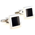 Mens Cuff Links Polished Finish Stainless Steel Luxury French Tuxedo Shirt Cuffl